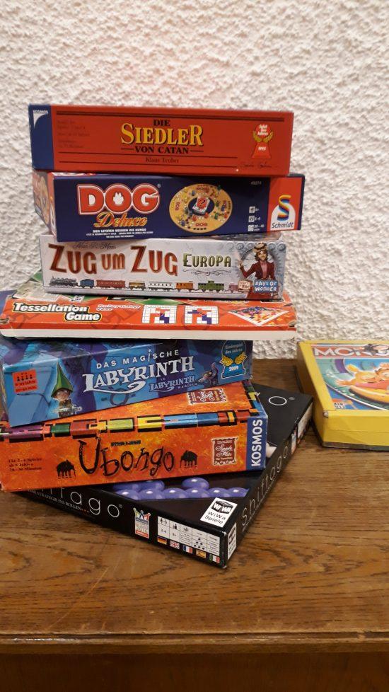 Brett-Spiele – eine Herausforderung