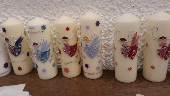 04. Dezember 2019 Weihnachts-Kerzen selber gestalten