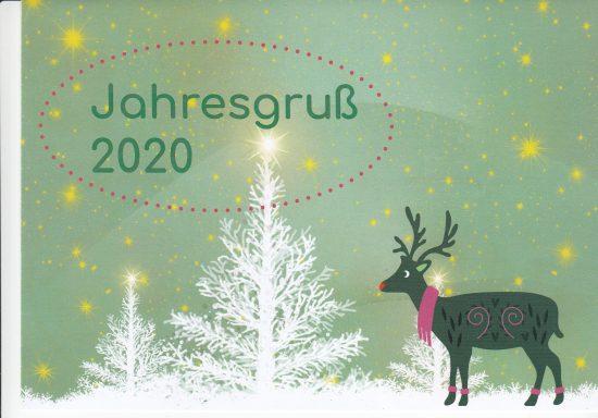 Jahresgruß 2020