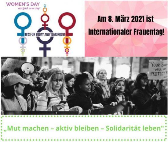 08. März Frauentag