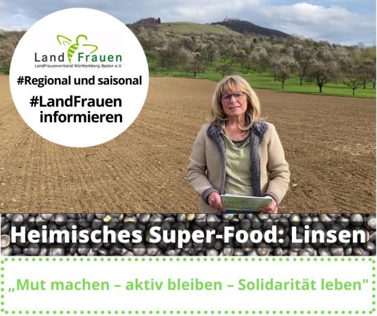 Heimisches Super-Food: Linsen